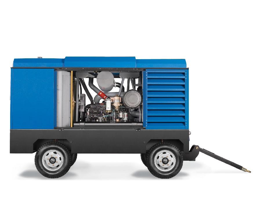 喷砂用移动式空压机