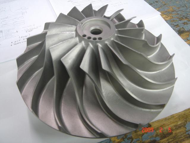 复盛离心式空气压缩机叶轮