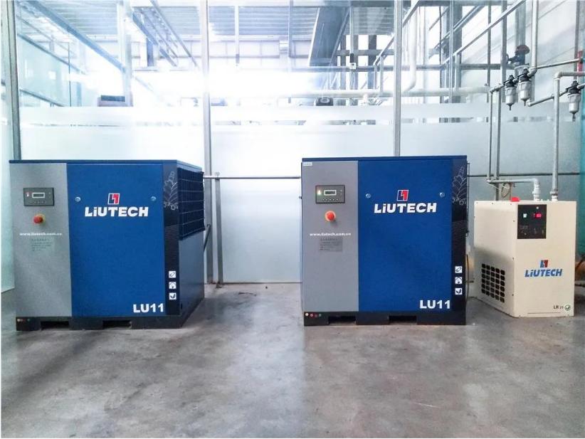 应用案例 | LIUTECH柳泰克空压机应用于洗涤行业